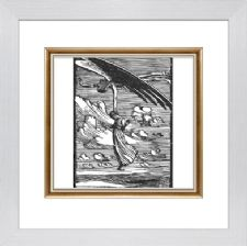 Flying - Ready Framed